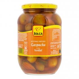 Aceitunas gazpacha partidas Jolca 500 g.