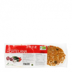 Hamburguesa de tofu estilo hortelana ecológica Soria Natural 160 g.