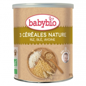 Papilla de 3 cereales nature