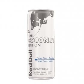 Bebida energética Red Bull The coconut edition  25 cl.