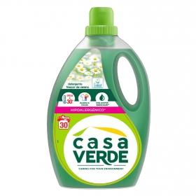 Detergente líquido Casa Verde 30 lavados.