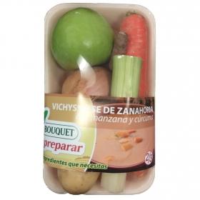 Preparado de Vichissoise de Zanahoria con manzana y curcuma Bouquet