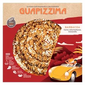 Pizza barbacoa Guapizzima 400 g.