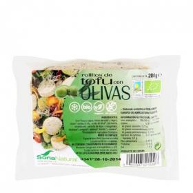 Rollito de Tofu con aceitunas ecológico Soria Natural 200 g.