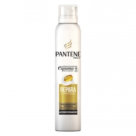 Acondicionador en espuma Repara & Protege para pelo graso y dañado Pantene 180 ml.