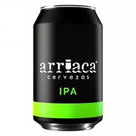 Cerveza artesana Arriaca IPA lata 33 cl.