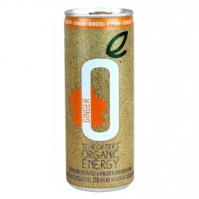 Bebida energética orgánica Ginger