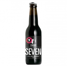Cerveza artesana Coisbo Seven Barley Wine-Oak Matured botella 33 cl.