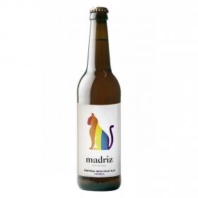 Cerveza artesana Madriz Hop Republic IPA Chueca botella 33 cl.