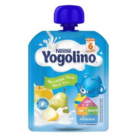 Bolsita de manzana y pera Nestlé Iogolino 90 g.
