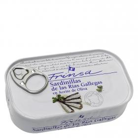 Sardinilla en aceite de oliva de las rias gallegas