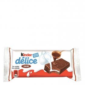 Bizcocho de cacao Kinder 42 g.