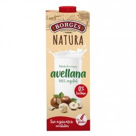 Bebida de arroz y avellana Borges Natura sin gluten y sin lactosa 1 l.