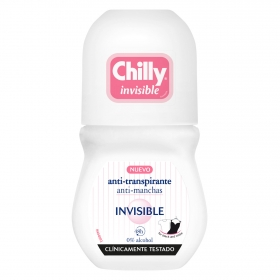Desodorante roll-on invisible 24h. 0% alcohol