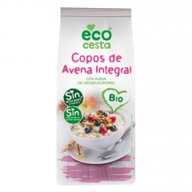 Copos de avena integral sin azúcares añadidos ecológicos Ecocesta 500 g.