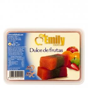 Dulce de frutas sin gluten
