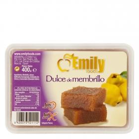 Dulce de membrillo Emily Foods sin gluten 400 g.