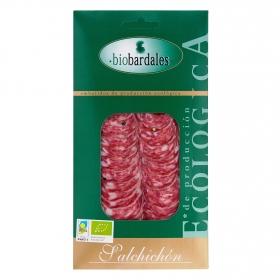 Salchichón lonchas ecológico Biobardales 100 g.