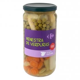 Menestra de verduras Carrefour 400 g.