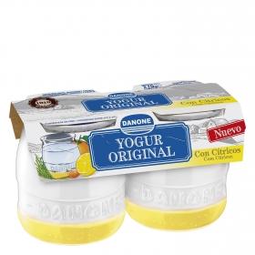 Yogur original con cítricos