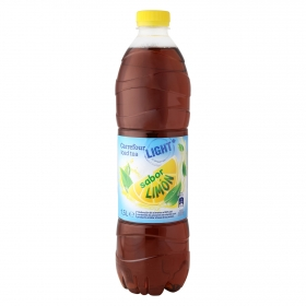 Refresco de té Carrefour light sabor limón botella