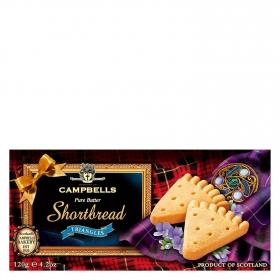 Galletas Shortbread triángles