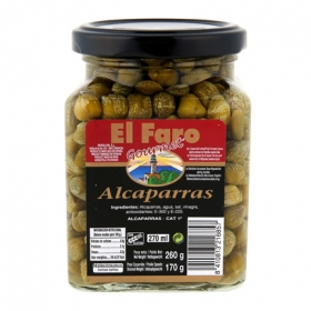 Alcaparras en vinagre El Faro 170 g.