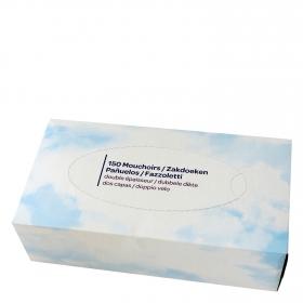 Pañuelos faciales Producto blanco 150 ud.