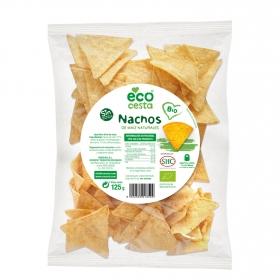 Nachos sabor queso ecológicos Ecocesta 125 g.