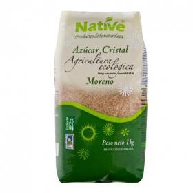 Azúcar moreno ecológico Native 1 kg.