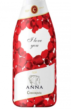 Anna de Codorníu I love you Cava