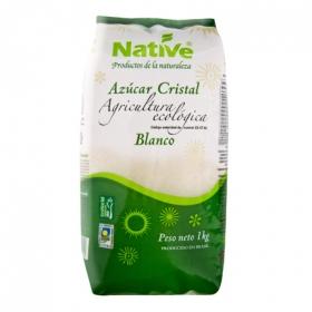 Azúcar de caña ecológico blanco