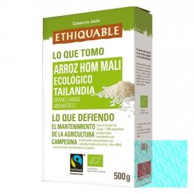 Arroz ecológico Ethiquable comercio justo 500 g.