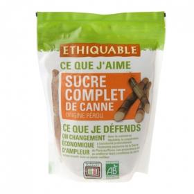Azúcar integral de caña de peru Ethiquable 500 g.