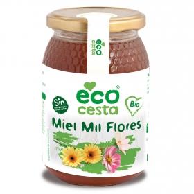 Miel de milflores ecológica Ecocesta 500 g.
