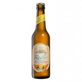 Cerveza ecológica Alsfelder LandbrauereiRadler con limón botella 33 cl.