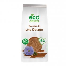 Semillas de lino dorado ecológico Ecocesta 250 g.
