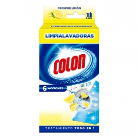 Limpia lavadoras Frescor limón