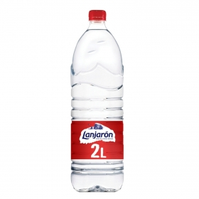 Agua mineral Lanjarón natural