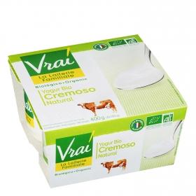 Yogur Bio cremoso natural