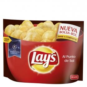 Patatas al punto de sal