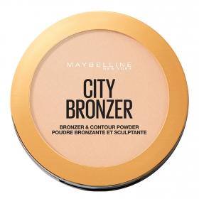 Polvos compactos nº 100 City Bronze Maybelline 1 ud.