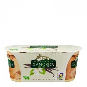 Yogur cremoso ecológico con vainilla