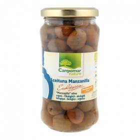 Aceitunas manzanilla ecologicas sin hueso sabor natural
