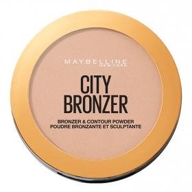 Polvos compactos nº 250 City Bronze Maybelline 1 ud.