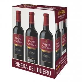 Vino Mayor de Castilla D.O. Ribera del Duero Roble caja de 6 botellas de 75 cl.