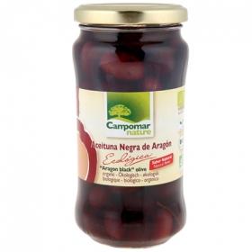 Aceituna negra de aragon ecologica con hueso sabor natural