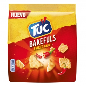Galletas saladas sweet chili Bakefuls Tuc 80 g.