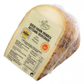 Queso de Mahon-Menorca DOP De Nuestra Tierra cuña 300 g