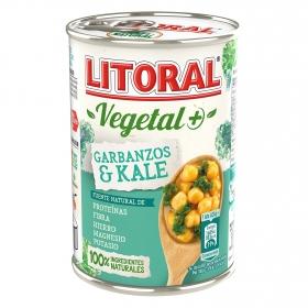 Garbanzos y kale Litoral sin gluten 425 g.